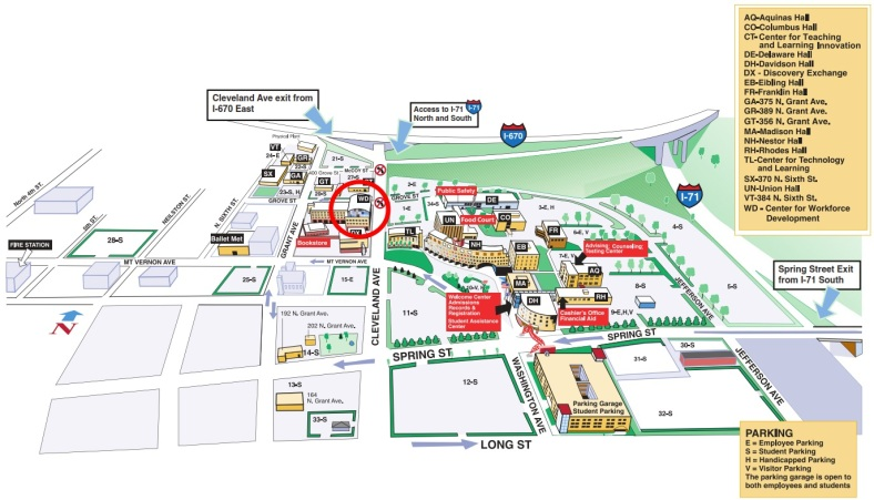 CSCC Conference Center Map